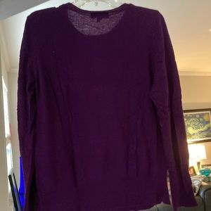Mossimo Purple Scoop Neck Sweater